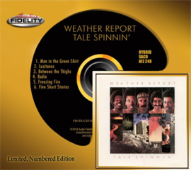 The Weather Report Tale Spinnin' Numbered Limited Edition Hybrid Stereo SACD