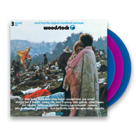 Woodstock 3LP -Blue/Pink Vinyl-
