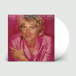 Rod Stewart Greatest Hits LP - Clear Vinyl-