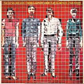 Talking Heads More Songs About Buildings and Food LP -Red Vinyl-