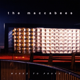 The Maccabees - Marks To Prove LP -ltd  - Coloured Blue Version -