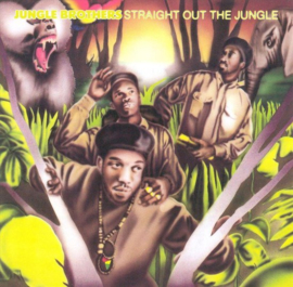 Jungle Brother Straight Out the Jungle LP