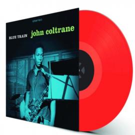 John Coltrane Blue Train LP - Red Vinyl-