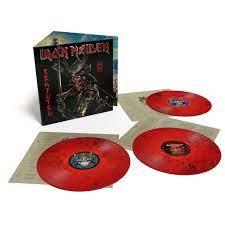 Iron Maiden Senjutsu 3LP - Red Black Vinyl-
