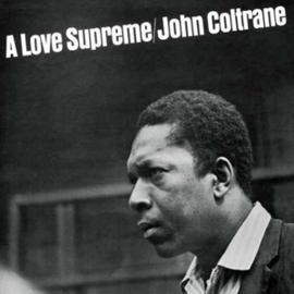 John Coltrane A Love Supreme 180g LP - Transparant Vinyl-