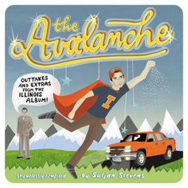 Sufjan Stevens The Avalanche: Outtakes & Extras From The Illinois Album 2LP (Orange & White Vinyl)
