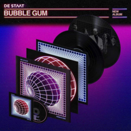 De Staat Bubblegum 2LP + CD -  Lenticular Cover -