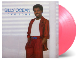 Billy Ocean Love Zone LP - Pink Vinyl-