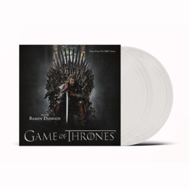 Game Of Thrones 2LP - White Vinyl-