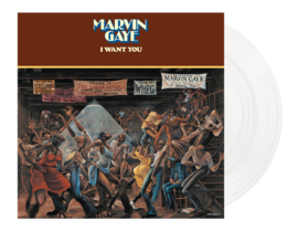 Marvin Gaye I Want You LP - White Vinyl-