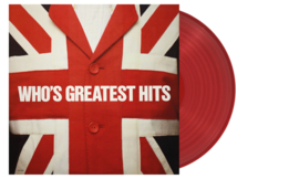 The Who Greatest Hits LP - Red Vinyl-