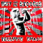 Iggy and The Stooges Telluric Chaos 2LP - Red White Vinyl-