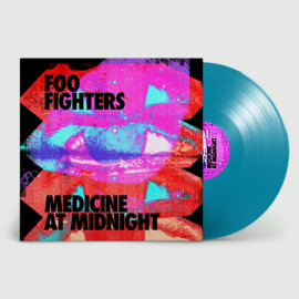 Foo Fighters Medicine At Midnight 2LP - Blue Vinyl-