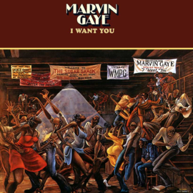 Marvin Gaye I Want You LP - White Vinyl-