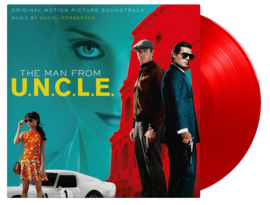 "OST - ""MAN FROM U.N.C.L.E. - Red Vinyl-"