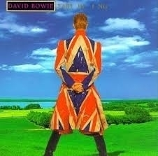 David Bowie - Earthling - Blue Vinyl Version LP -Ltd-
