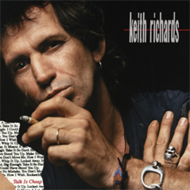 Keith Richards Talk Is Cheap 180g LP (Red Vinyl)