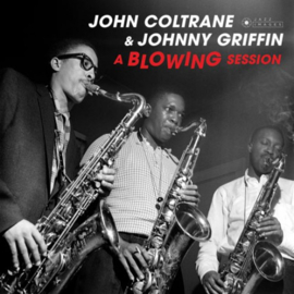 John Coltrane & Johnny Griffin - A Blowing Session LP