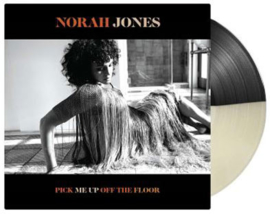 Norah Jones Pick Me Up Off The Floor LP - Black / White Vinyl-