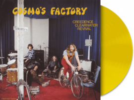 Creedence Clearwater Revival Cosmo's Factory LP - Yellow Vinyl-