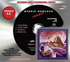 Herbie Hancock Thrust Numbered Limited Edition Hybrid Multi-Channel & Stereo SACD