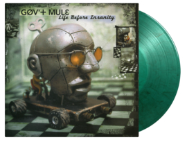 Gov' t Mule Life Before Insanity 2LP - Green Vinyl-