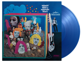 Cuby & The Blizzards Trippin Thru A Midnight Blues LP - Blue Vinyl-