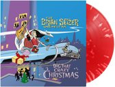Brian Setzer Dig That Craxy Christmas LP - Red Vinyl-