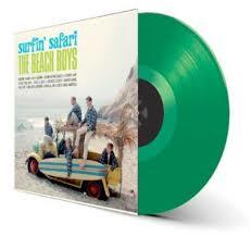 Beach Boys Surfin' Safari LP - Green Vinyl-