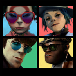 Gorillaz Humanz 180g 2LP Deluxe Edition With Book