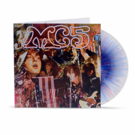 Mc5 Kick Out The Jams LP - Red/White Spaller Vinyl-