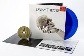 Dream Theater Distance Over Time 2LP + CD - Blue Vinyl-