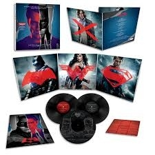 ORIGINAL SOUNDTRACK - BATMAN V SUPERMAN  3LP