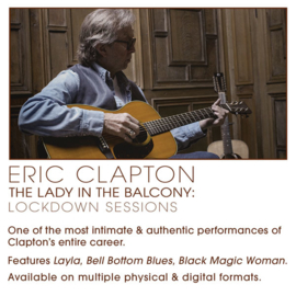 Eric Clapton Lady In The Balcony  CD