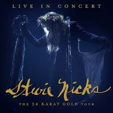 Stevie Nicks Live In Concert: The 24 Karat Gold Tour 2LP - Clear Vinyl-