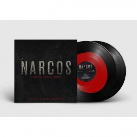 NARCOS -LTD- BLACK & RED COLORED LP