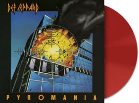 Def Leppard Pyromania LP - Red Vinyl-