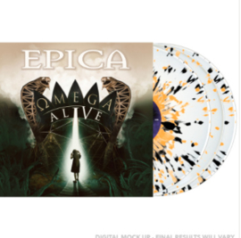 Epica Omega Alive 2LP - Splatter Vinyl-