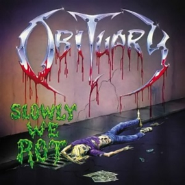Obituary Slowly We Rot LP