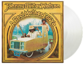 Johnny Guitar Watson A Real Mother For You LP - Clear Vinyl-