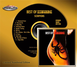 The Scorpions Best of Scorpions Numbered Limited Edition Hybrid Stereo SACD