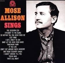 Mose Allison - Mose Allison SIngs HQ LP