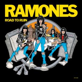 Ramones Road Ro Ruin LP - Blue Vinyl