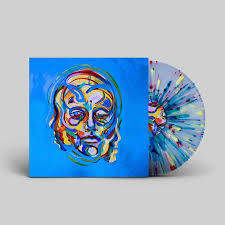 Lonely The Brave Hope List LP - Blue Splatter Vinyl-