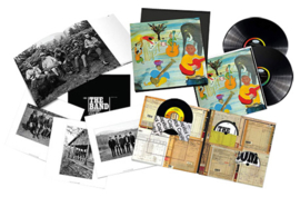"""The Band Music From Big Pink 45rpm 2LP, CD, 7"""", & Blu-Ray Audio Box Se"""