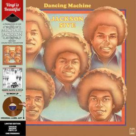 Jackson 5 Dancing Machine LP - Orange Vinyl-