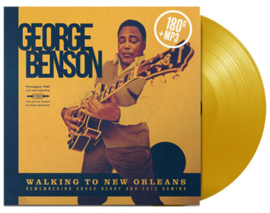 George Benson Walking to New Orleans: Remembering Chuck Berry and Fats Domino 180g LP (Yellow Vinyl)