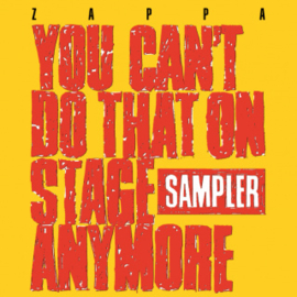 Frank Zappa You Can'T Do That 2LP