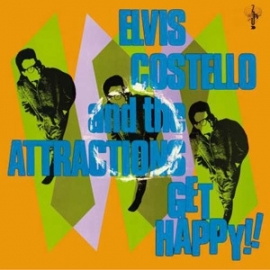 Elvis Costello & The Attractions Get Happy!! 180g HQ 2LP