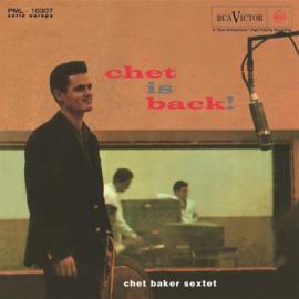 Chet Baker Sextet Chet Is Back LP